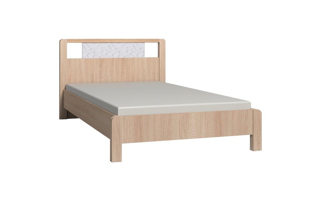 Кровати: Кровать WYSPAA 44 (1200, орт. осн. металл) в Стильная мебель