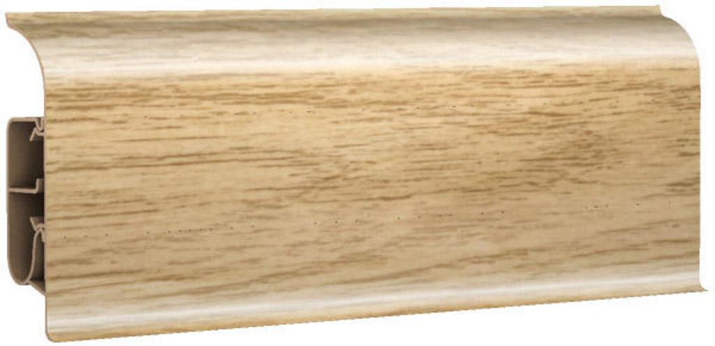Плинтуса напольные: Плинтус напольный 85 глянцевый 85109 дуб элегант в Мир Потолков