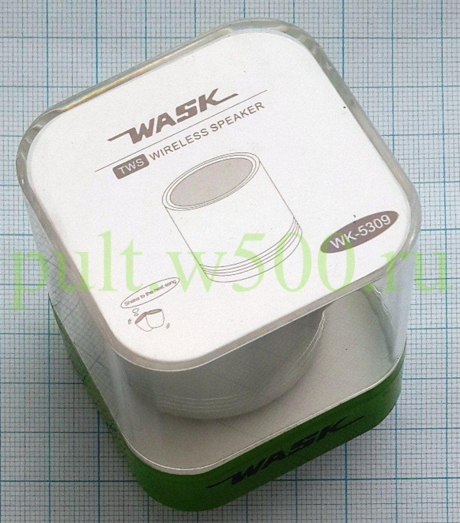 Блютуз колонки: Bluetooth-колонка  ( Wask WK-5309 серебр. ) в A-Центр Пульты ДУ