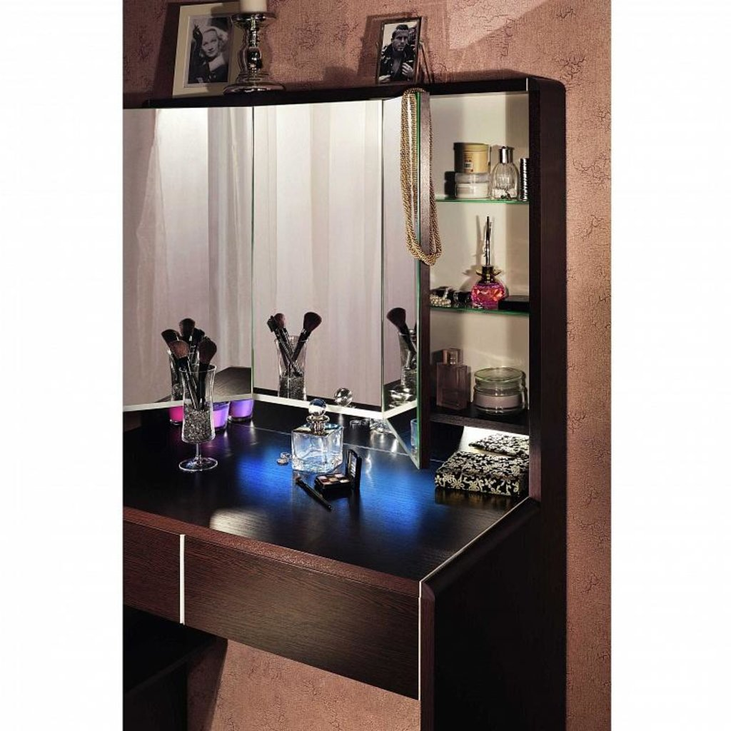 Мебельные направляющие и комплектующие: Доп. Модуль BERLIN 45 для BERLIN35 Стол туалетный в Стильная мебель