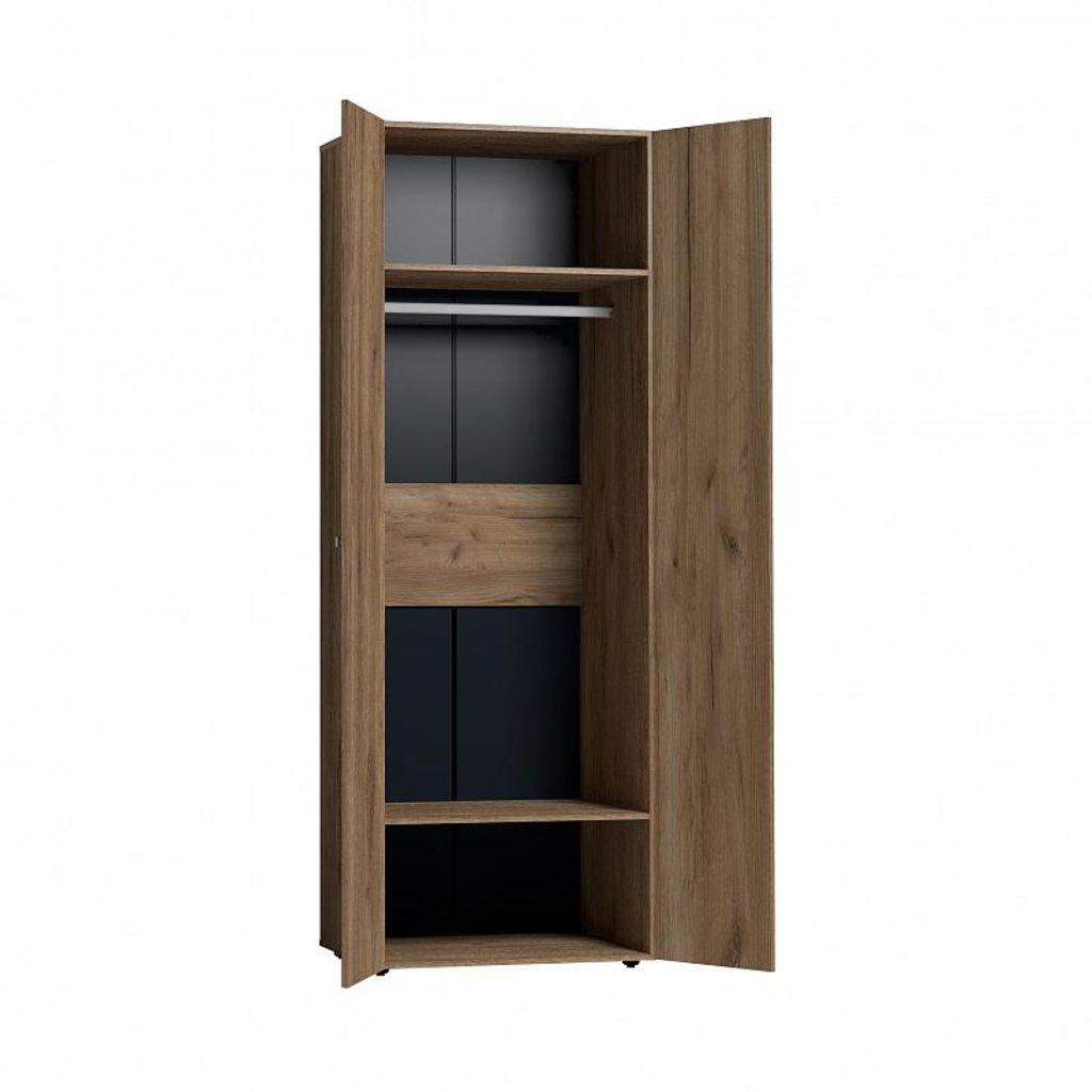 Шкафы для одежды и белья: Шкаф для одежды Neo 54 (Стандарт + Стандарт) в Стильная мебель