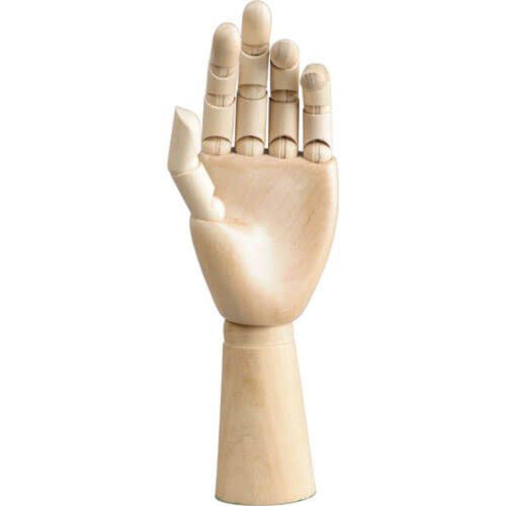 """Дерево,МДФ: Модель """"рука"""", 30см, мужская левая в Шедевр, художественный салон"""