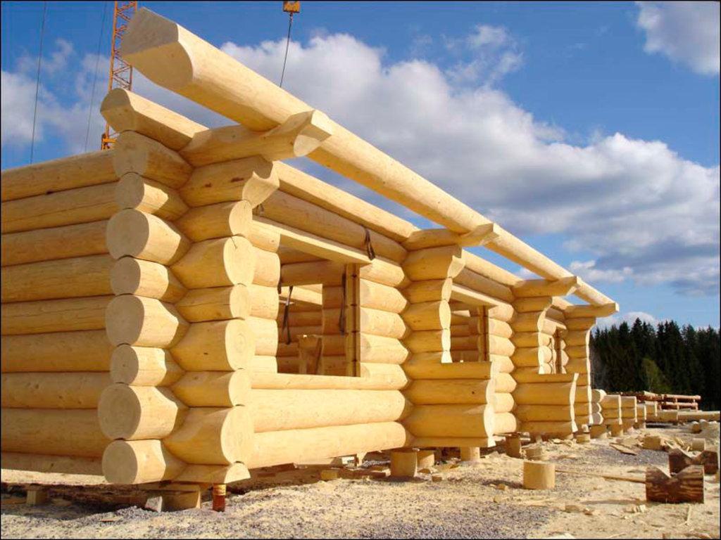 Деревянное домостроение: Сборка домов в Теплый Дом
