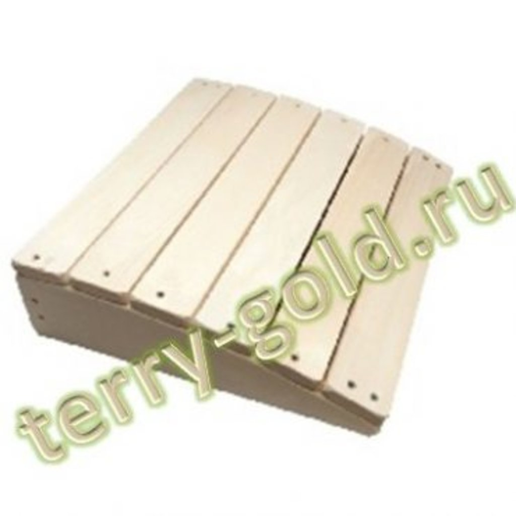 Товары для саун и бань, общее: Подголовник простой в Terry-Gold (Терри-Голд), погонажные изделия