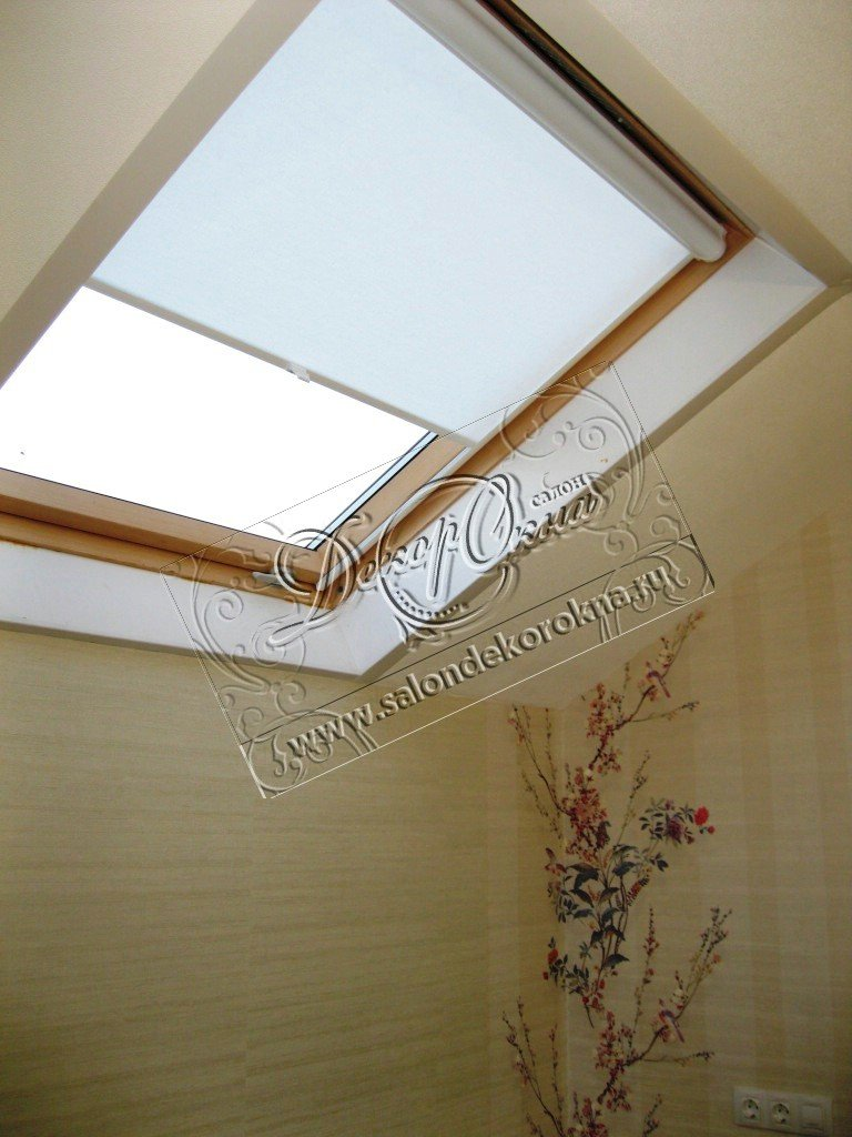 Рулонные шторы: Рулонные шторы для мансард в Декор окна, салон