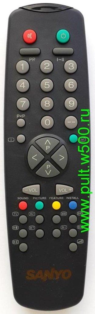 SANYO: Пульт SANYO 11UV19-2 (RC-2000) westel чёрный (TV С14-14R) оригинал в A-Центр Пульты ДУ