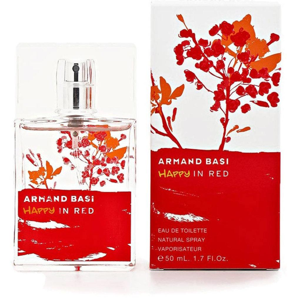 Женская туалетная вода Armand Basi: Armand Basi Happy In red edt ж 50   100ml ТЕСТЕР в Элит-парфюм