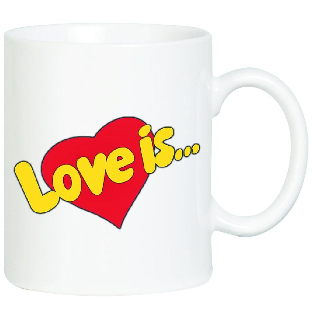 """Выбери готовый дизайн для любой кружки-заготовки: Кружка """"Love is"""" в NeoPlastic"""