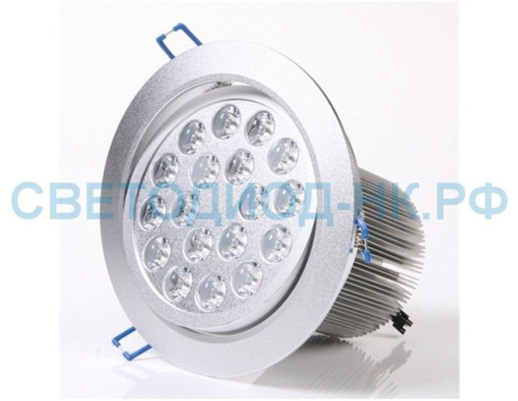 Встраиваемые светодиодные светильники: Светильник светодиодный AL 163,18LED, 18W,160*140мм в СВЕТОВОД