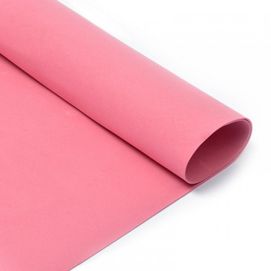 Фоамиран: Фоамиран 1мм 50*50см тёмно-розовый, 1 лист в Шедевр, художественный салон