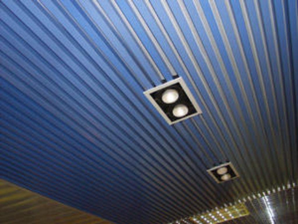 Реечные потолки: Рейка кубообразная A25S белый матовый А910 в Мир Потолков