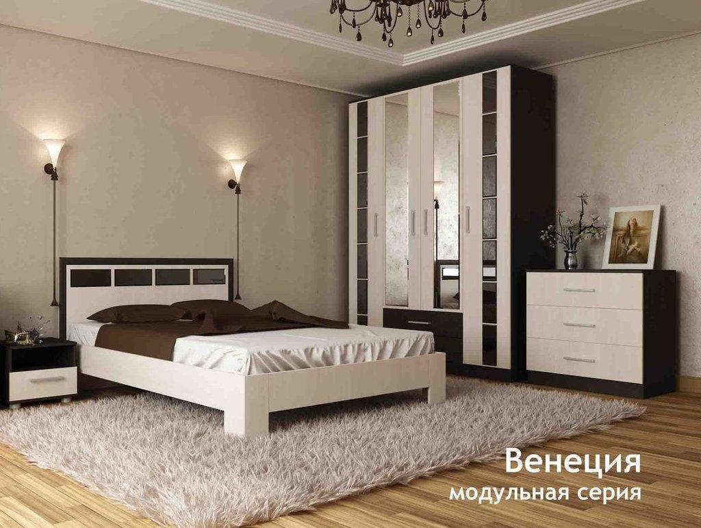 Модульная мебель в спальню Венеция: Модульная мебель в спальню Венеция в Стильная мебель
