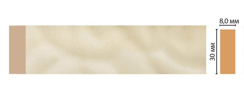 Молдинги: Цветной молдинг DECOMASTER D041-61 (30*8*2400) в Мир Потолков