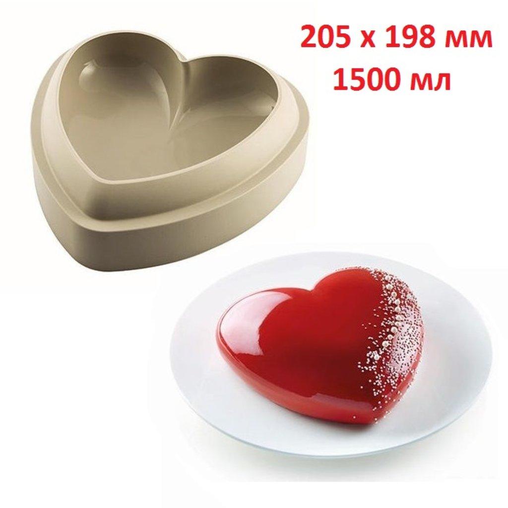 3d формы: Форма силиконовая Silikomart BCUORE (Сердцебиение) в ТортExpress