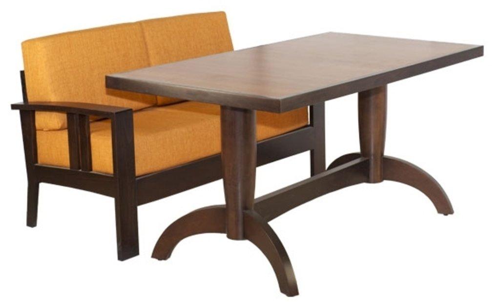 Столы для ресторана, бара, кафе, столовых.: Стол Viks-2 прямоугольный 1500х850 (шпон) в АРТ-МЕБЕЛЬ НН