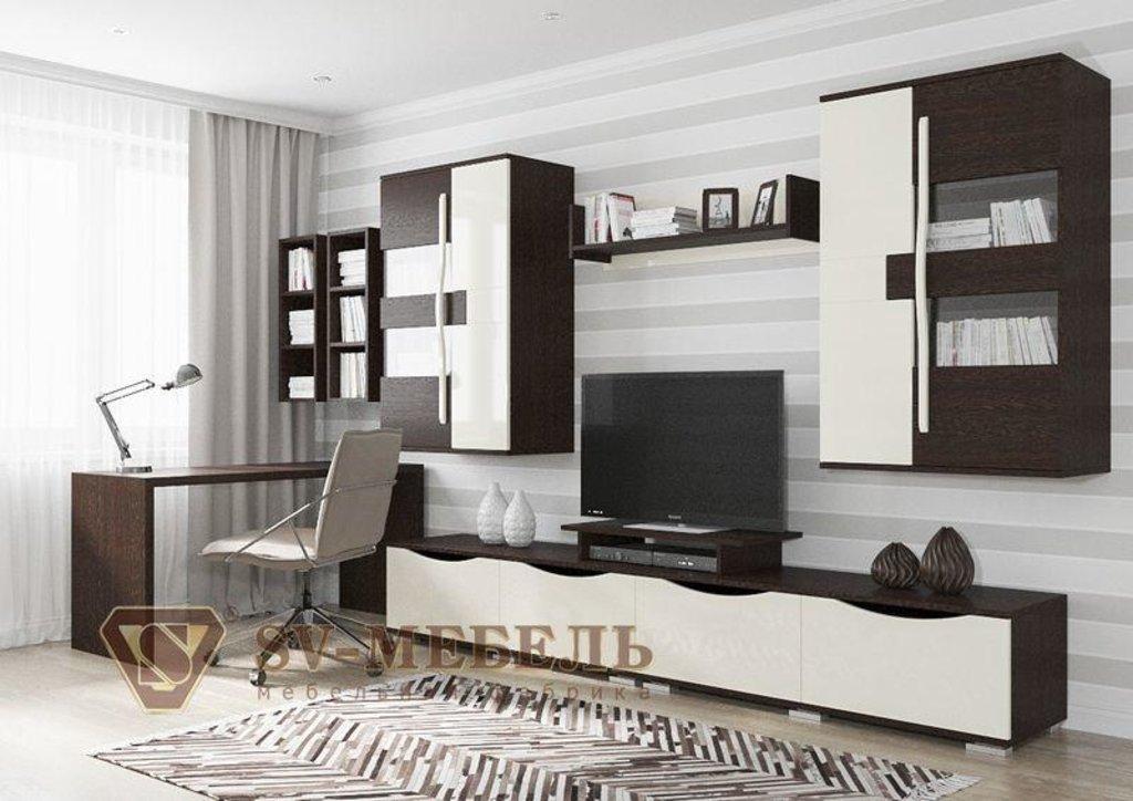 Мебель для гостиной Нота-26: Полка навесная Нота-26 в Диван Плюс