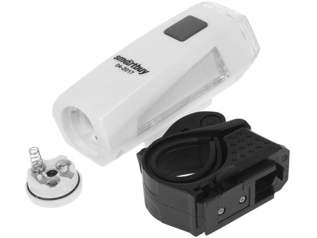 Велосипедные фонари: Smartbuy фонарь велосипедный SBF-BF03-W (3xR03) 1св/д 3W, белый в СВЕТОВОД