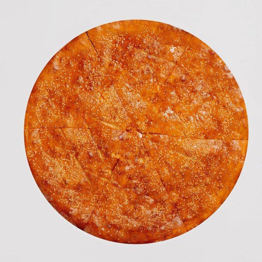 Пицца фирменная закрытая: Стафф Чикен в Сбарро