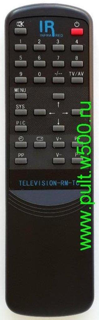 RECORD(РЕКОРД): Пульт REKORD RM-TC Avest (TV CT-1403) оригинал в A-Центр Пульты ДУ