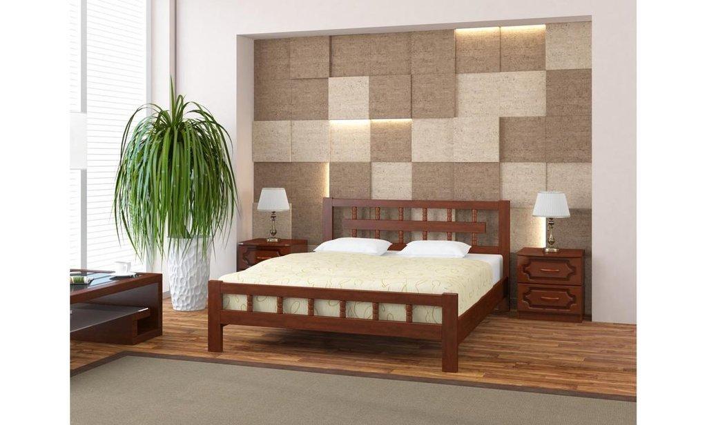 Кровати: Кровать Натали-5 (массив) в Уютный дом