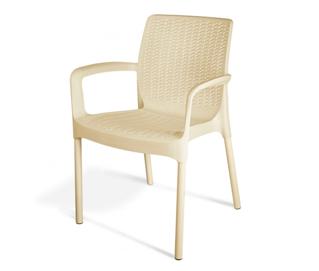 Комплекты мебели для летних кафе и ресторанов: Обеденная группа SHT-DS23 (бежевая). в АРТ-МЕБЕЛЬ НН