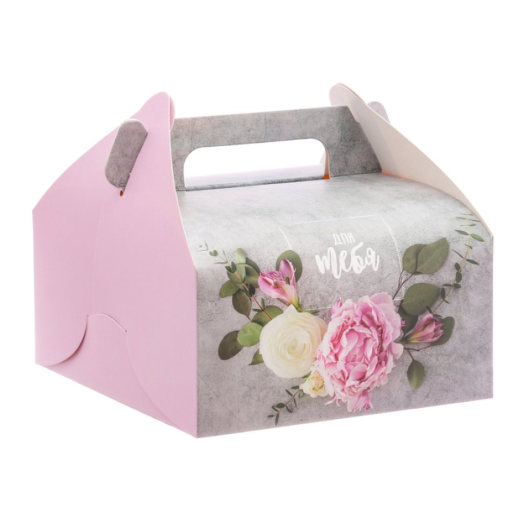 """Коробки для кондитерских изделий: Сундук для сладостей """"Для тебя"""", 16 × 15 × 18 см в ТортExpress"""