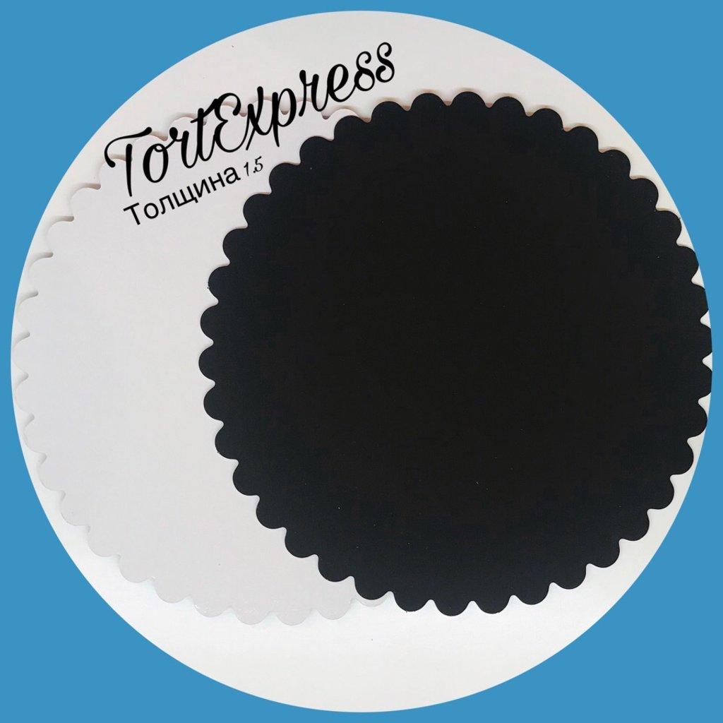Салфетки, подложки: Фигурная подложка в ТортExpress