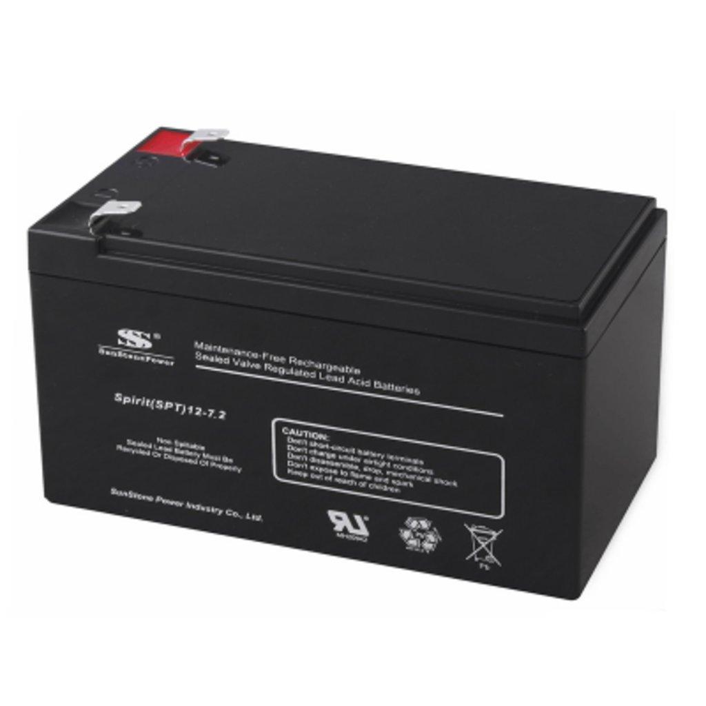 Для ИБП: Аккумулятор SunStonePower SPT12-7,2 в Горизонт