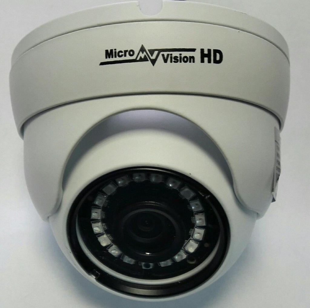 Аналоговые видеокамеры (AHD): Видеокамера MicroVision MV-H2322M в Микровидео