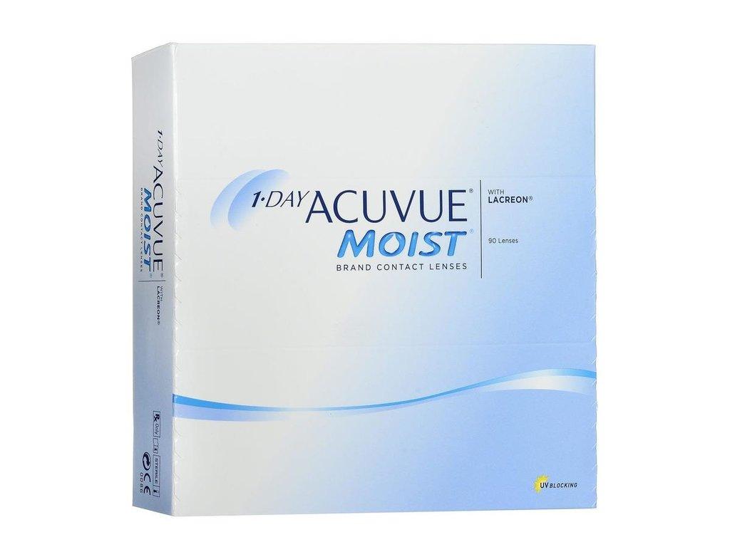 Контактные линзы: Контактные линзы 1-Day Acuvue Moist (90шт / 8.5) Johnson & Johnson в Лорнет