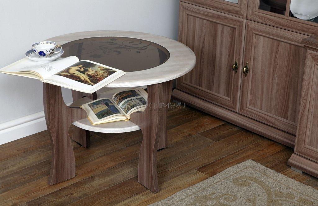 Журнальные и кофейные столики: Журнальный столик Маджеста - 6 с пескостр. в Стильная мебель