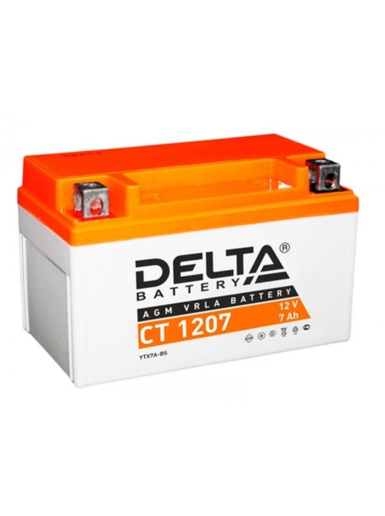 Delta: DELTA 1207 CT в БазаАКБ