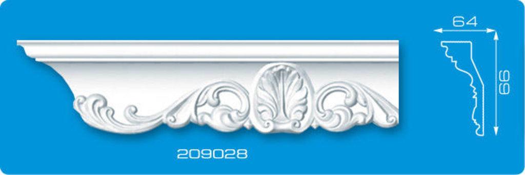 Плинтуса потолочные: Плинтус потолочный ФОРМАТ 209028 инжекционный длина 2м в Мир Потолков