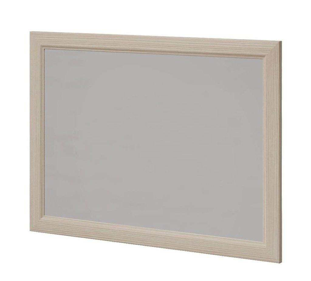 Мебель для прихожей Ирис (Дуб Бодега). Модули: Зеркало настенное в рамке Ирис 17 в Диван Плюс