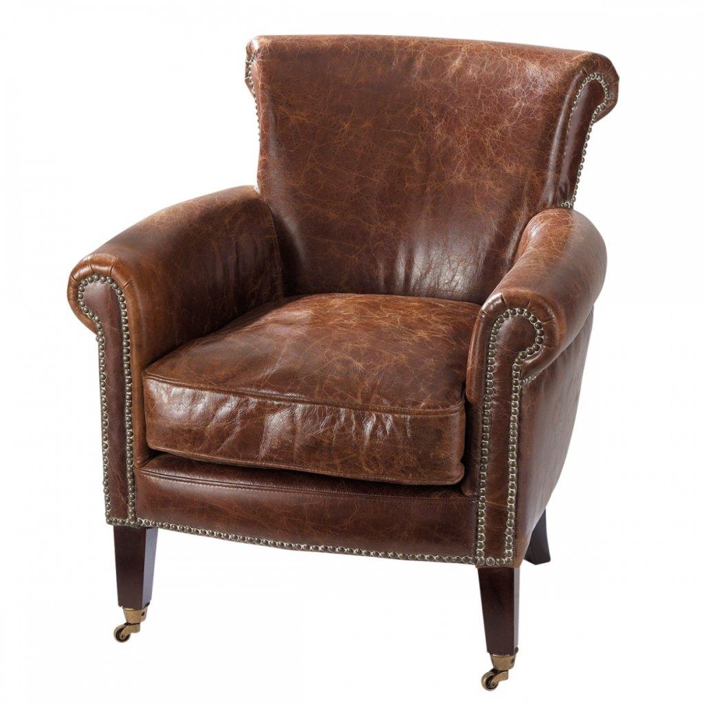 """Кресла: Кресло кожаное """"Карлос"""" в Амадео"""
