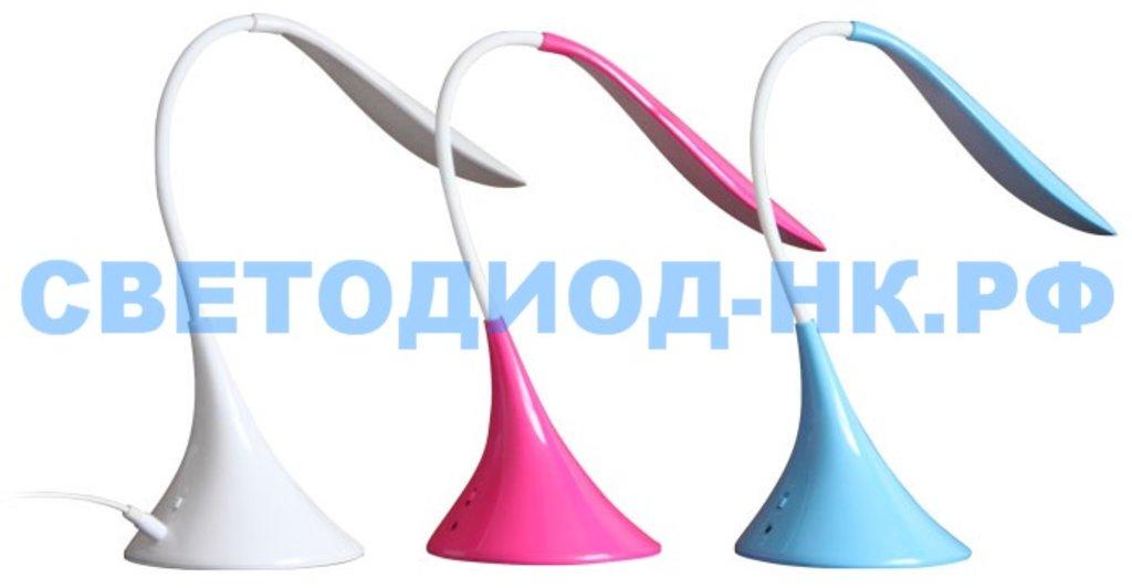 Настольные лампы, ночники: Лампа настольная СПУТНИК DL319LED белый в СВЕТОВОД