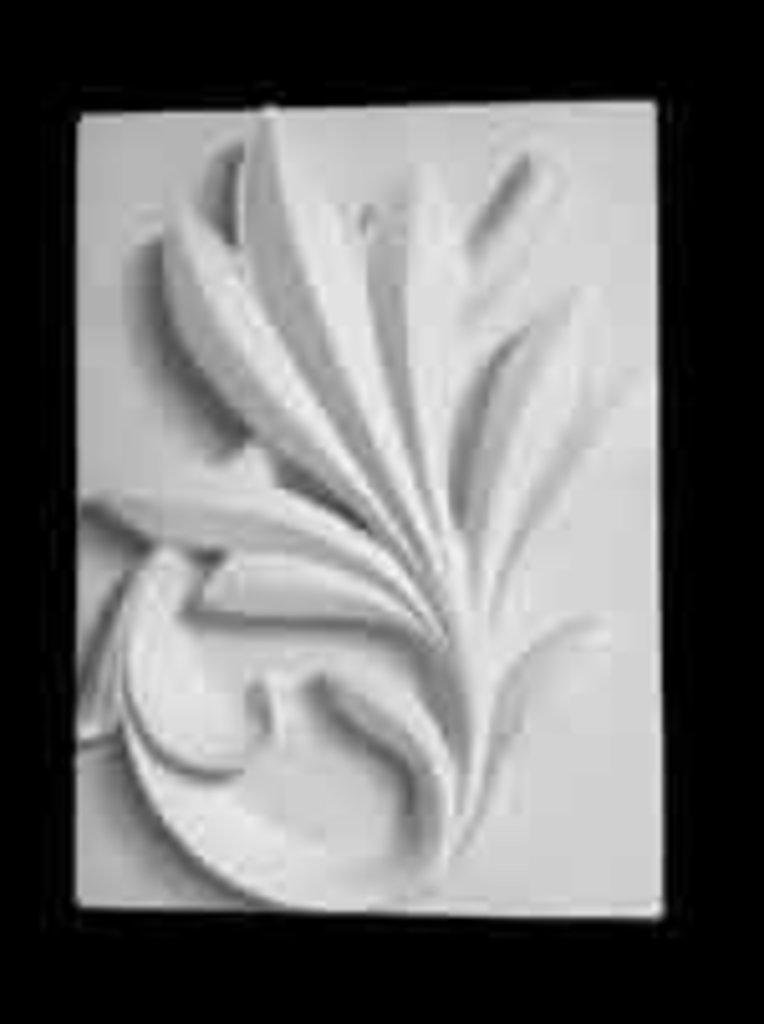 Гипсы: Орнамент, пальмовая ветвь в Шедевр, художественный салон
