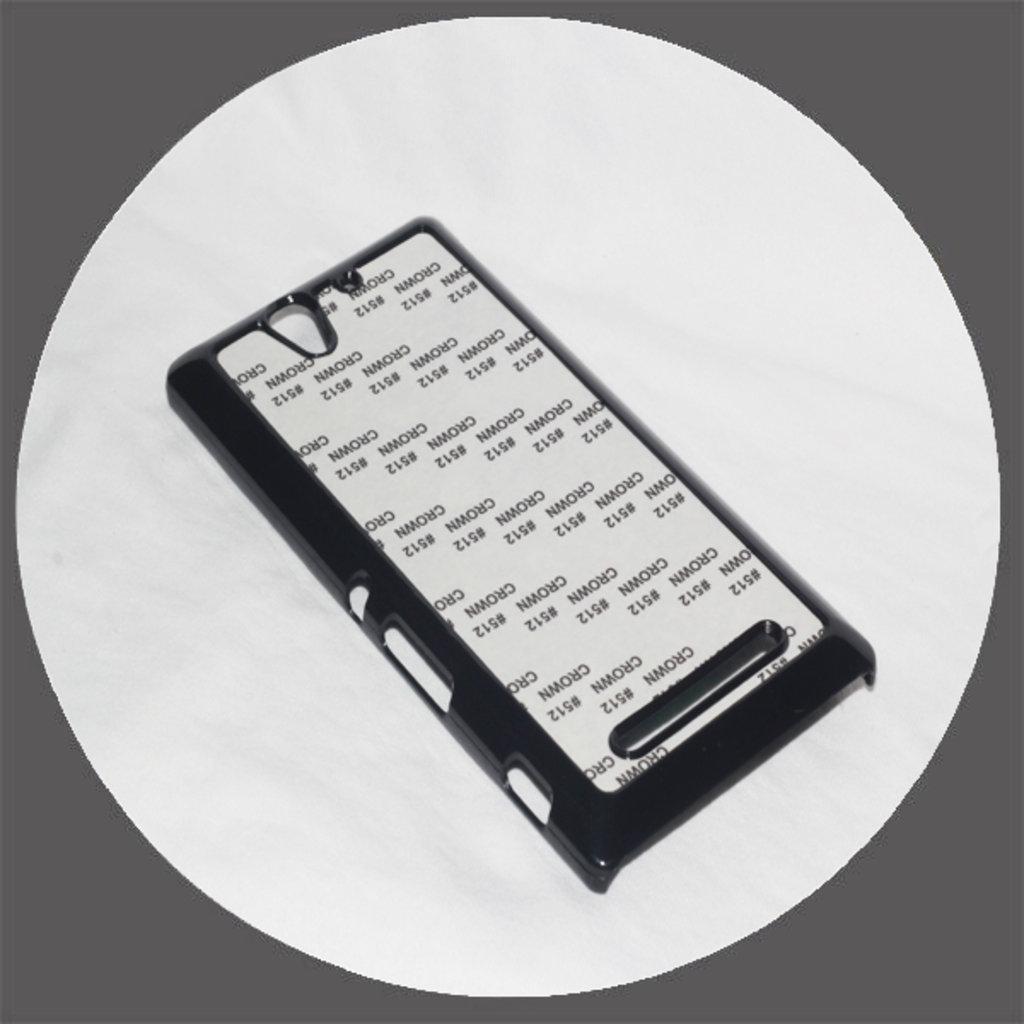 Sony: Чехол для Sony С3 Черный пластиковый в NeoPlastic