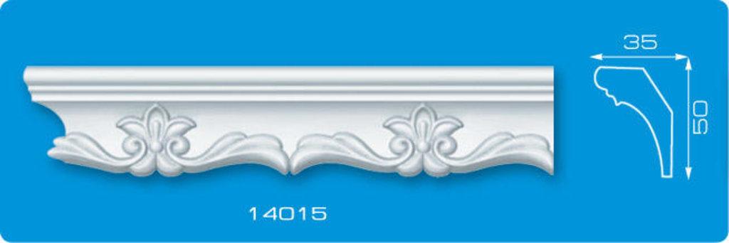 Плинтуса потолочные: Плинтус потолочный ФОРМАТ 14015 инжекционный длина 1,3м, средний в Мир Потолков