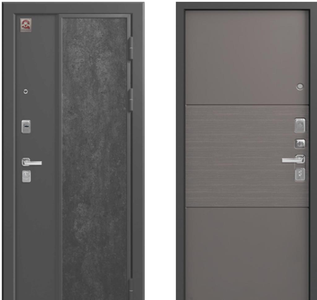 Двери Центурион: Центурион LUX7 СОФТ ГРЕЙ в Модуль Плюс