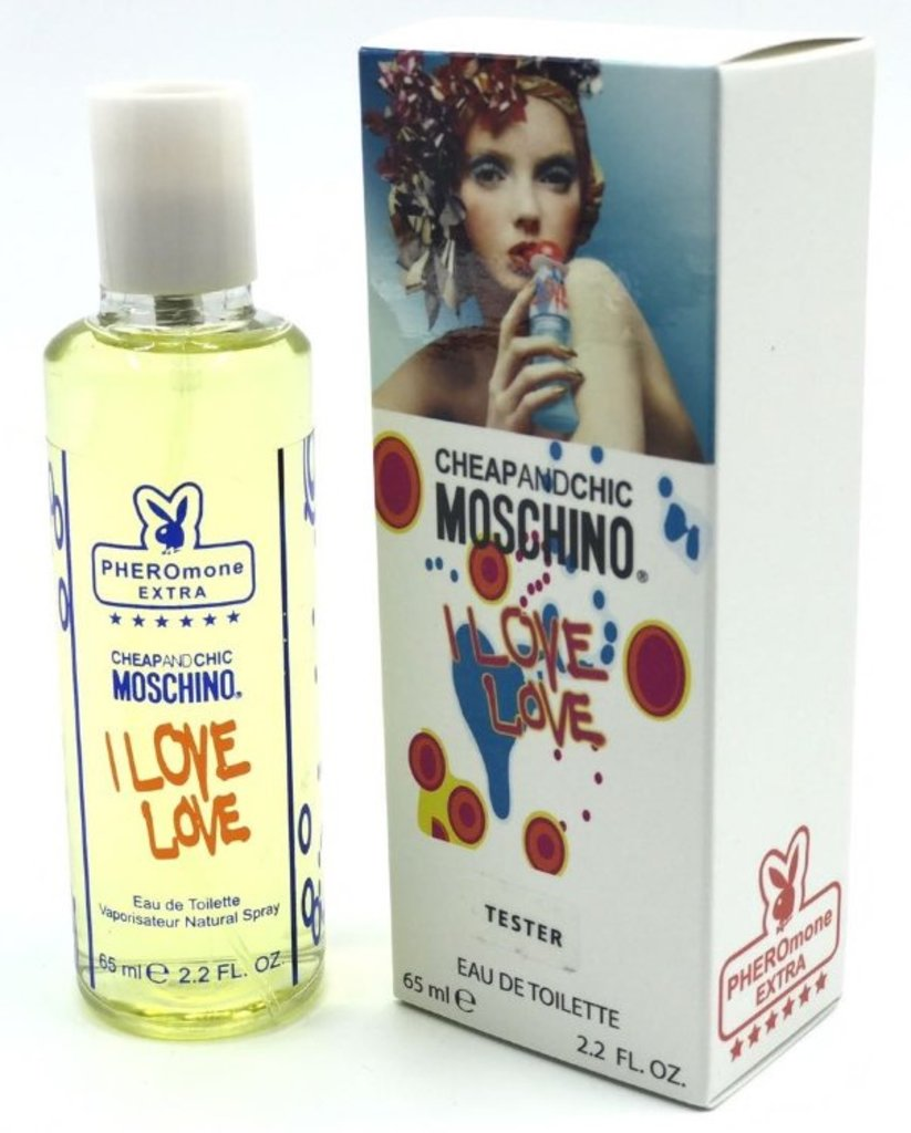 Moschino (Москино): Мини-парфюм 65 ml с феромонами Moschino Cheap and Chic I Love Love в Мой флакон