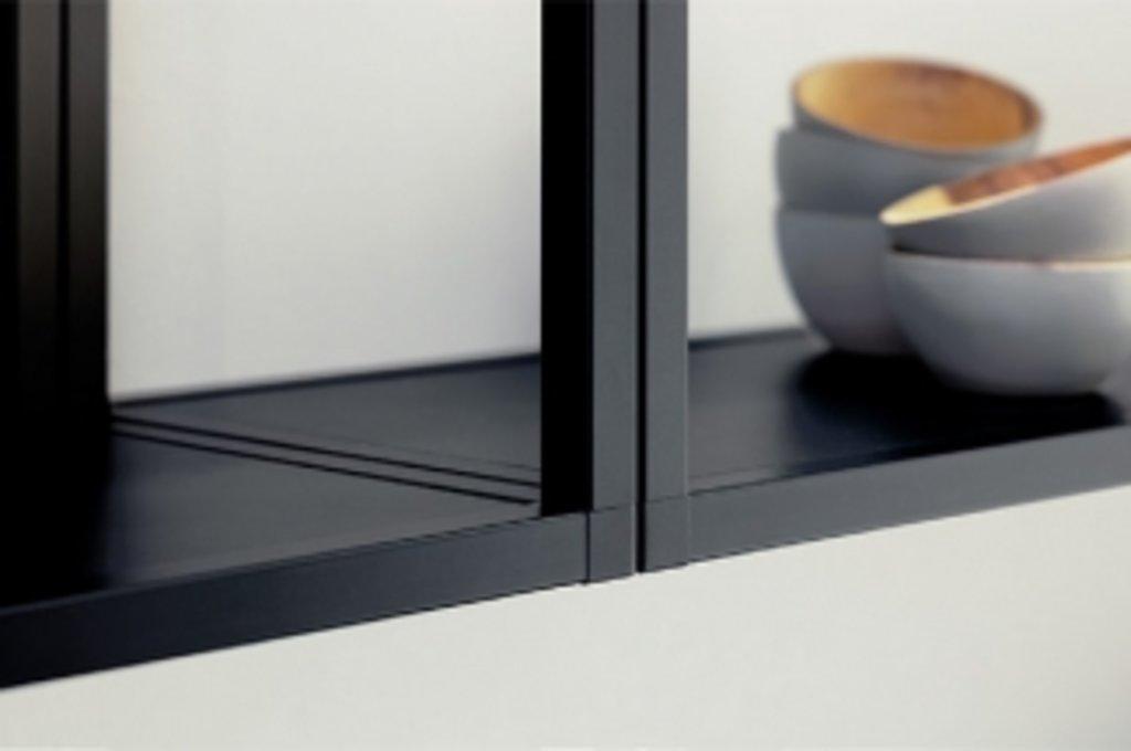 """Мебельная фурнитура """"НОВИНКИ"""": SmartCube Профиль основной, L=5000, отделка черная в МебельСтрой"""