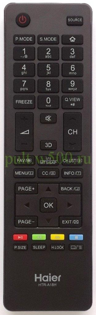 HAIER: Пульт Haier HTR-A18H, HTR-A18HA  ( LCD LE22M600F ) оригинал в A-Центр Пульты ДУ