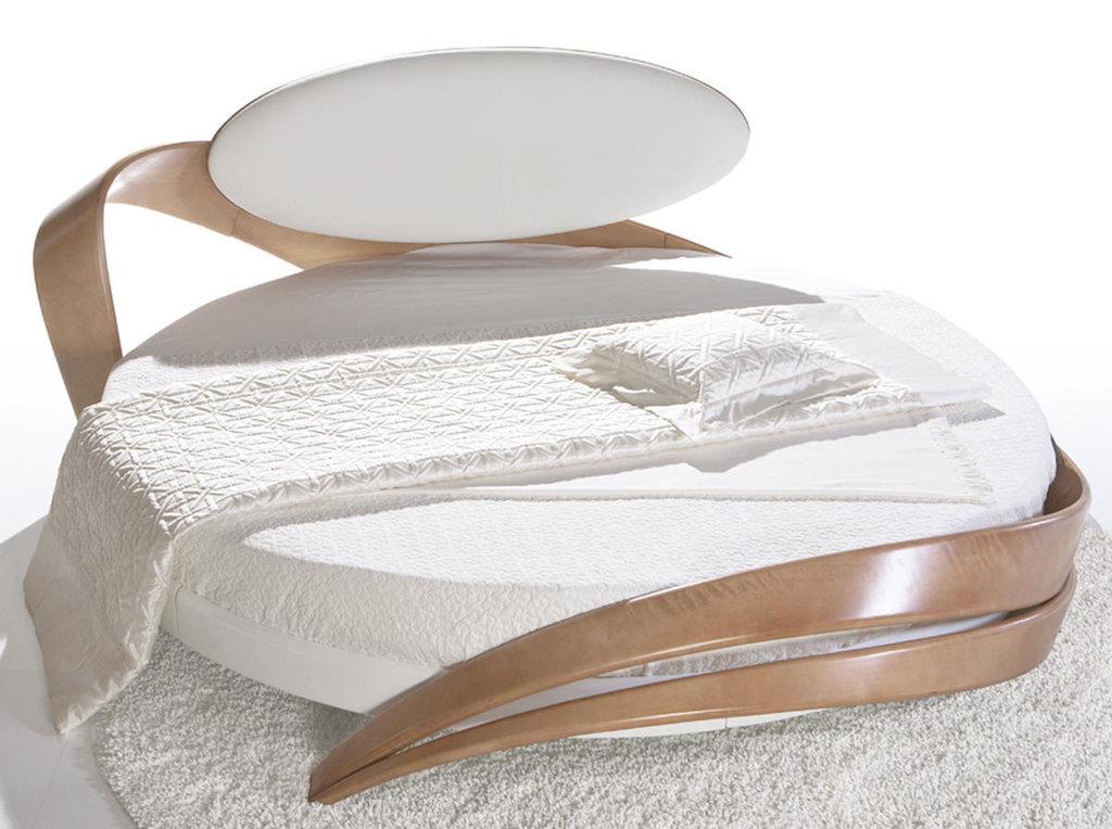 Кровати: Круглая кровать Бразо в Актуальный дизайн