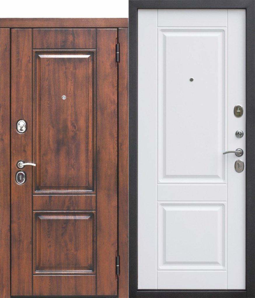 Двери FERRONI: Входная дверь 9,5 см ВЕНА Vinorit Патина МДФ/МДФ Грецкий орех в Двери в Тюмени, межкомнатные двери, входные двери