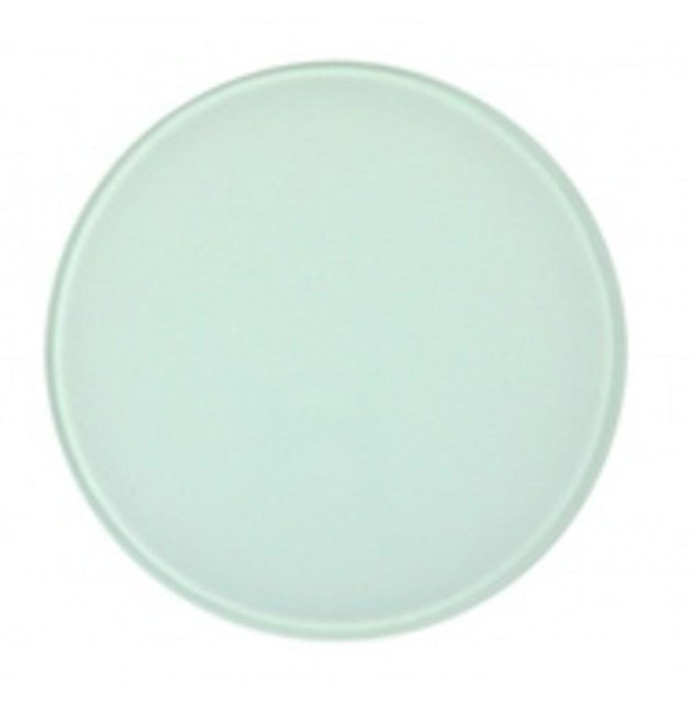 Коврики для мыши и подставки под стакан: Костер стеклянный 10х10 см круглый в NeoPlastic
