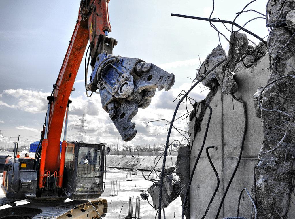 Демонтажные работы: Демонтаж сооружений в Магистраль, ООО