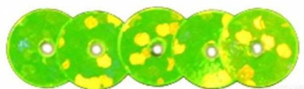 Плоские 6мм.: Пайетки плоские 6мм.упак/10гр.Астра(цвет:50105 св.зеленый голограмма) в Редиант-НК