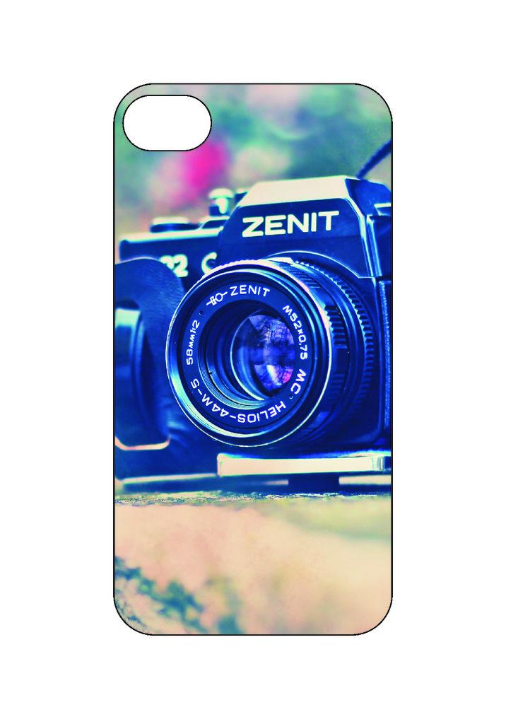 Выбери готовый дизайн для своей модели телефона: Фотоаппарат в NeoPlastic