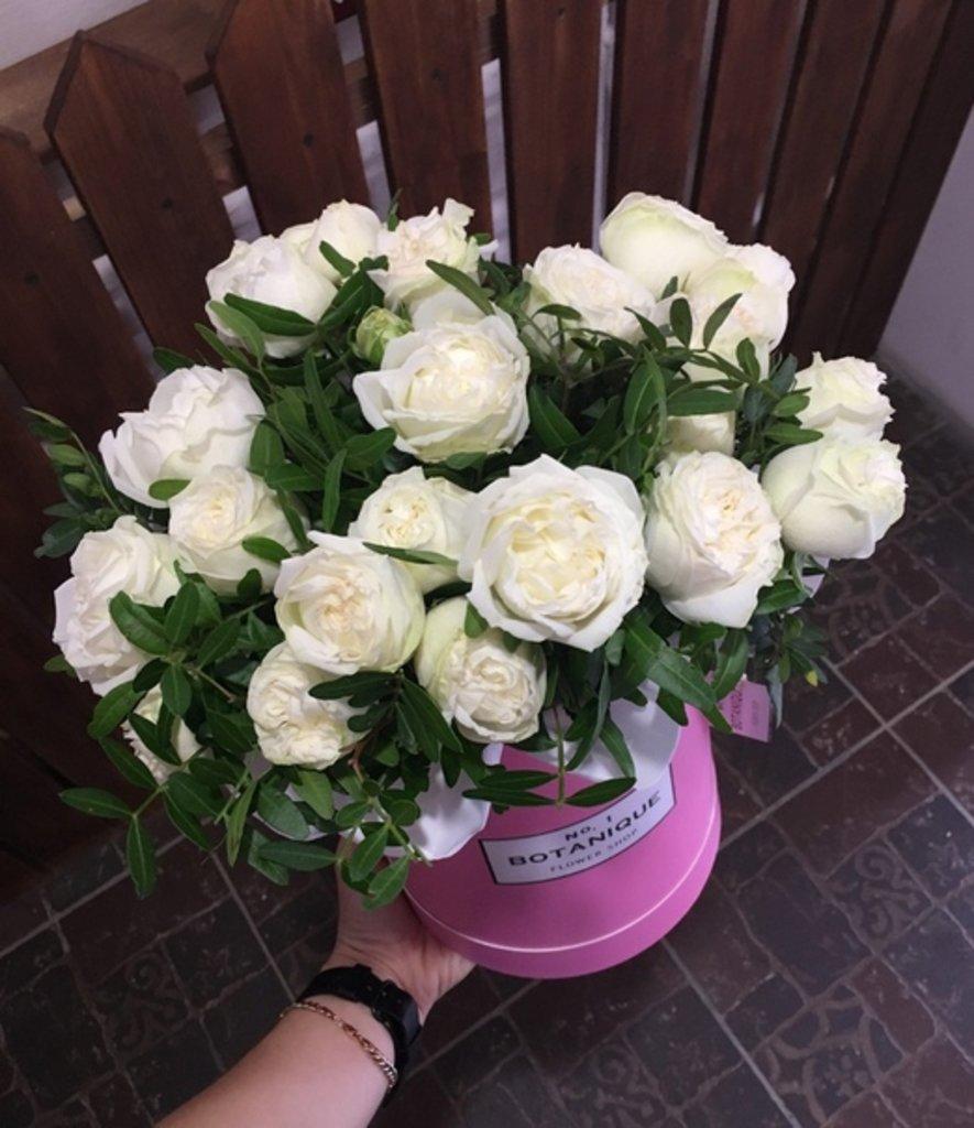 "Premier mini: ""Premier mini"" розы ""Бомбастик! на зелени в Botanique №1,ЭКСКЛЮЗИВНЫЕ БУКЕТЫ"